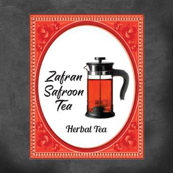 Zafran/Safroon Tea